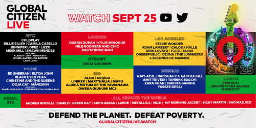 P&G is Proudly Supporting Global Citizen Live