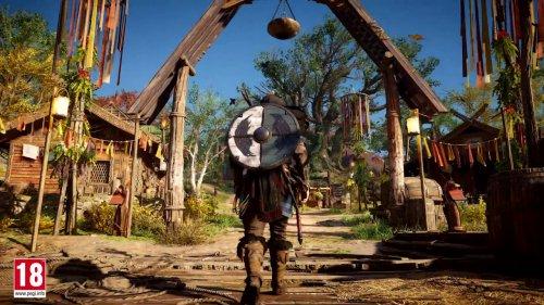 Los druidas celtas serán tu peor pesadilla en Assassin's Creed Valhalla, que presenta su primera expansión