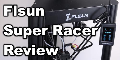 Flsun Super Racer (SR) Review: Fast Delta 3D Printer | 3D Print Beginner