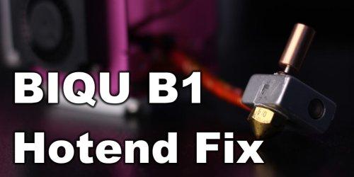 BIQU B1 Hotend Fix: Bi-Metal Heat Break Installation Guide