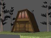 3 RADI. Log homes, timber frame cabins, modular log cabins. Cabins, campings plans.