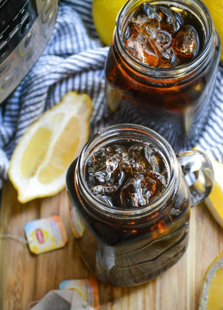 Instant Pot Southern Style Sweet Tea - 4 Sons 'R' Us