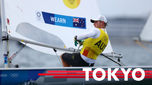 Australia's Matt Wearn wins GOLD at the Tokyo 2020 Olympics two days before the final race is even held