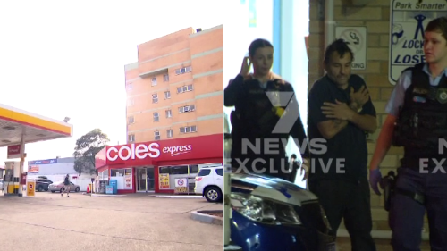 Bra boy Jed Campbell 'kicked, dragged' elderly man with dementia at Coles Express service station in Sydney
