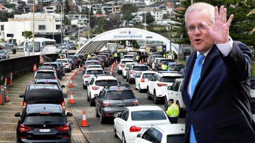 PM Scott Morrison hits back after NSW virus spike prompts grilling by Natalie Barr on Sunrise