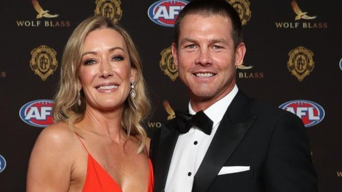 Ben Cousins returns to AFL with 'fortunate' appearance at Brownlow Medal 2021 event in Perth