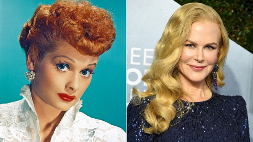 Nicole Kidman says she's 'out of comfort zone' playing comedy legend Lucille Ball