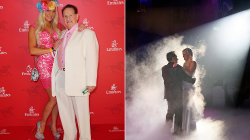 Former wife Brynne leads tributes to controversial businessman Geoffrey Edelsten