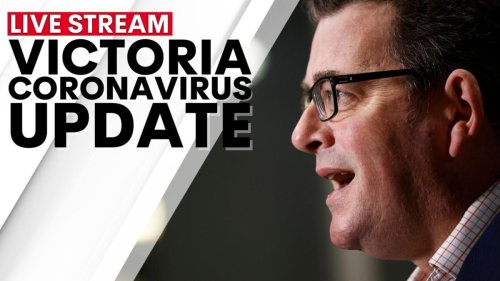 WATCH LIVE: Dan Andrews press conference today with changes to Victoria's roadmap in COVID-19 update