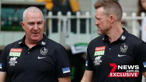 AFL: Collingwood footy boss Graham Wright speaks on club's coaching search