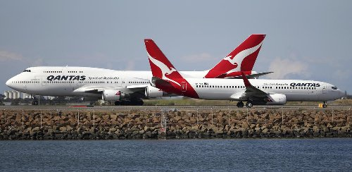 Qantas adjusts timeline for international travel after federal budget - but still plans to carry Australians overseas THIS YEAR