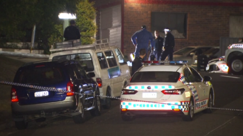 Brisbane man 'stabbed to death' in front of young son after returning to Newmarket home
