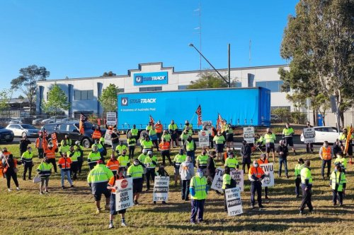 Parcel deliveries expected to be significantly delayed as Australia Post workers at StarTrack go on strike