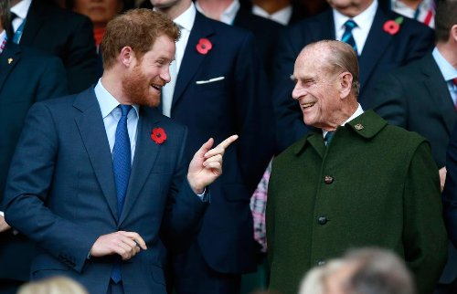 Grieving Prince Harry reportedly lands in London for Prince Philip's funeral