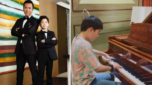 Donnie Yen's 13-Year-Old Son Is An Amazing Piano Player