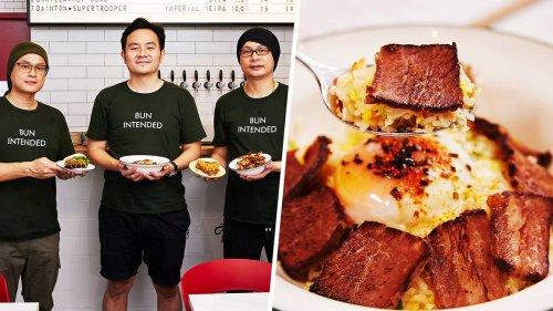 Ex-Din Tai Fung Chefs Open Taiwanese Bun Café, With Awesome Beef Fat Fried Rice
