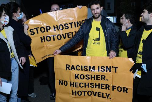 'Racism isn't kosher': British Jews protest ongoing embrace of Israeli ambassador