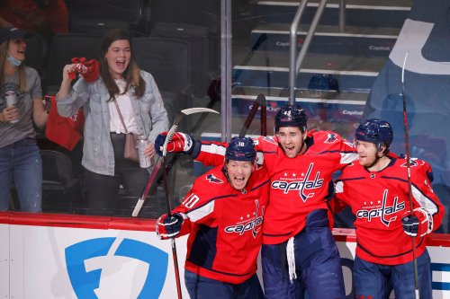 Capitals take Game 1 with Nic Dowd overtime winner