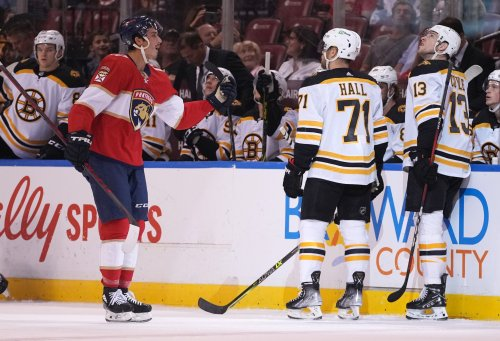 Panthers put Bruins on notice in first showdown of new season