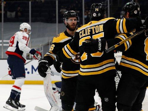 Bruins top Capitals in bloody 6-3 slobberknocker