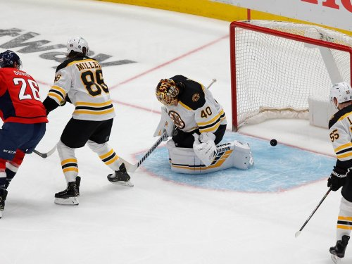 Bruins-Caps Game 1 Postgame Podcast with Matt Dolloff and Ty Anderson