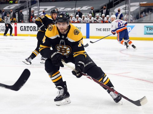 Jake DeBrusk admits he heard the noise: 'My haters had a lot to say'