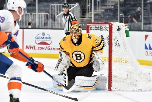 Tuukka Rask returns to action, collects 300th NHL victory