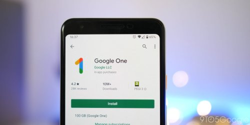Google One reaches 100 million Play Store downloads - 9to5Google