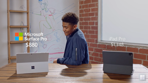 Microsoft continues uninspired anti-Apple ad campaign with new iPad Pro vs Surface Pro video - 9to5Mac
