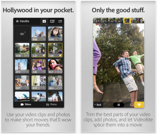 Adobe VideoBite, a bite-sized video editor for iPhone, now allows titles, photos & music - 9to5Mac