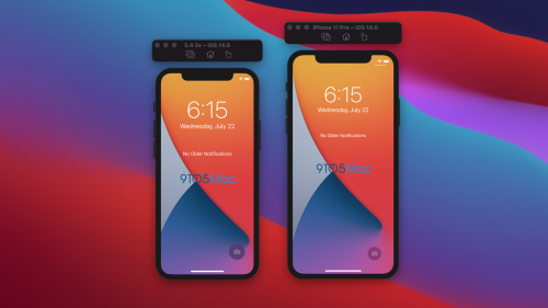 iOS 14 beta gives us a glimpse of the system interface on the 5.4-inch iPhone 12 - 9to5Mac