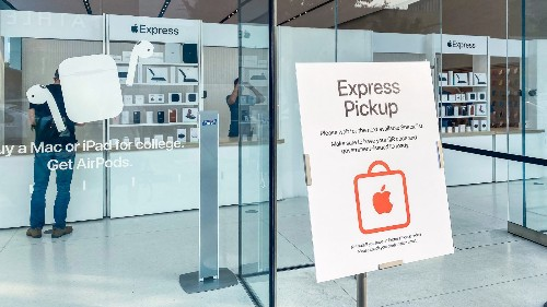 Apple pilots Express store concept for easy pickup of online orders - 9to5Mac