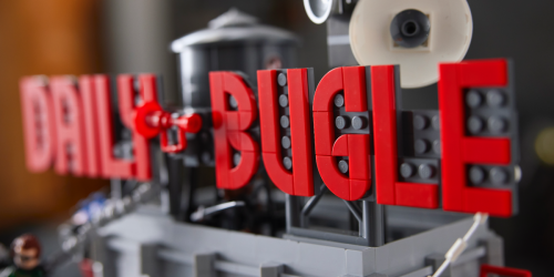 LEGO's new 3,700-piece Daily Bugle set stands 32 inches tall - 9to5Toys