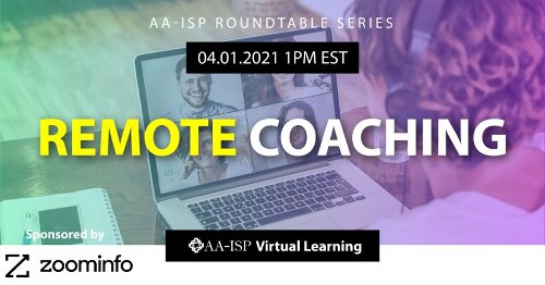 AA-ISP Events | Register For AA-ISP Roundtable: Remote Coaching