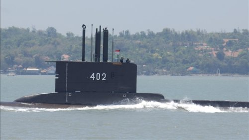 Indonesia searching for missing submarine with 53 on board, seeking help from Australia, Singapore