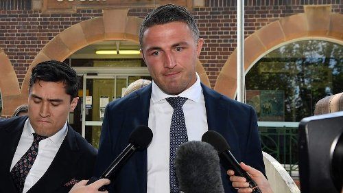 Sam Burgess pleads guilty to driving with traces of cocaine in his system