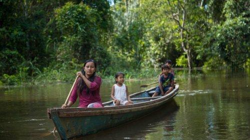 Peruvian mum awarded 'Green Nobel' for work to create Amazon national park
