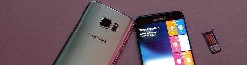 Samsung Galaxy S7 y S7 Edge: resistentes al agua, cámara ultra-rápida y gran capacidad
