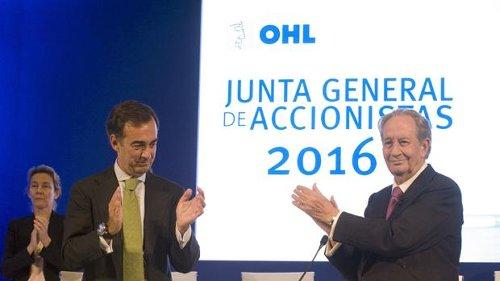 OHL ratifica su «compromiso» con México invirtiendo unos 330 millones en el país durante 2017