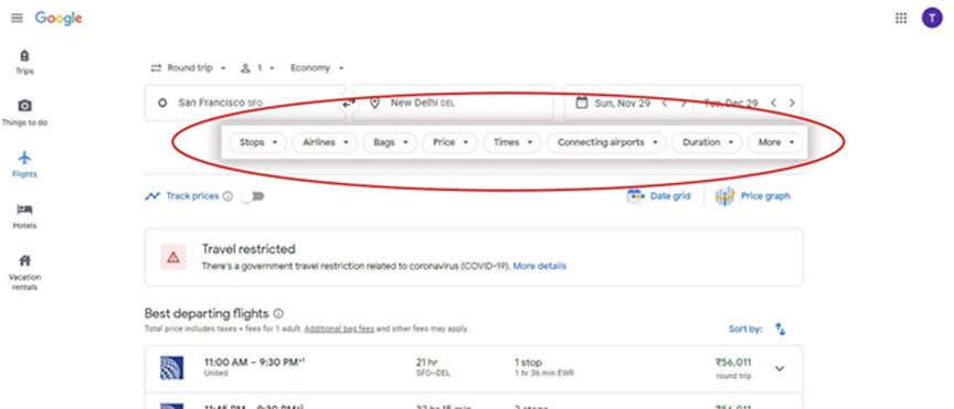 google flights - cover