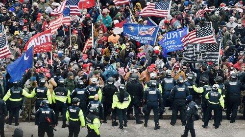 Inspector general blasts Capitol Police preparedness for Jan. 6 riot
