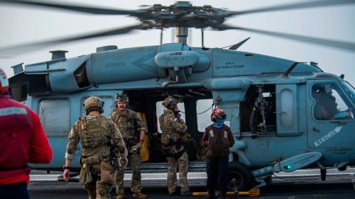 US Navy says drone strike hit oil tanker off Oman, killing 2
