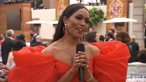 Angela Bassett calls the Oscars 'Hollywood's Christmas'
