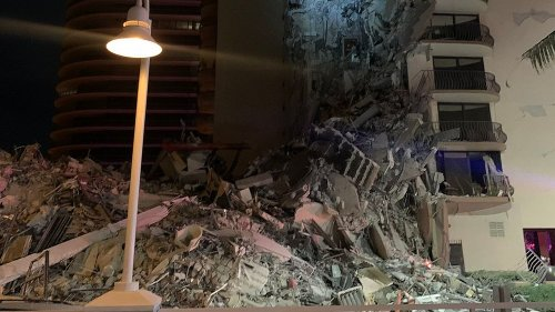 Multi-story building partially collapses near Miami Beach, authorities say