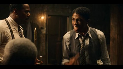 Kelley Carter predicts it will be Chadwick Boseman's night