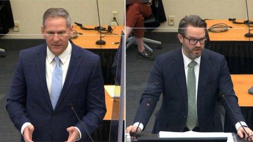 Prosecution and defense present closing arguments in Derek Chauvin trial