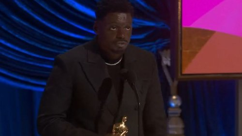 Daniel Kaluuya gave this speech as he accepted the Oscar for Best Supporting Actor