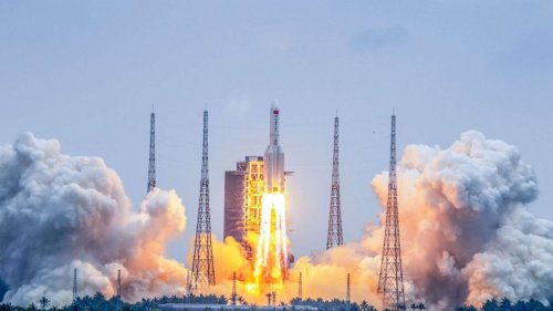 Chinese rocket updates: Debris splashes down in Indian Ocean, China says