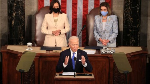 Biden lays out plan for America 'on the move again' in address to Congress