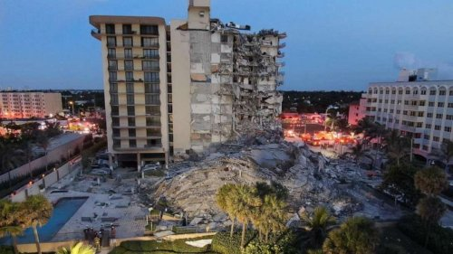Florida building collapse latest: 3 dead, as many as 99 missing